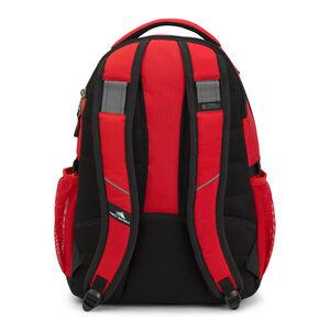 Swerve Backpack in the color Crimson/Black.