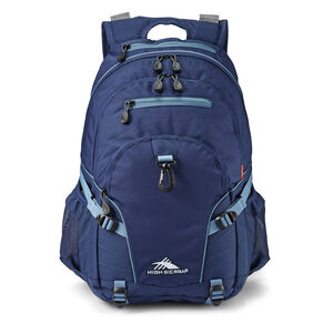 Loop Backpack in the color True Navy/Graphite Blue.