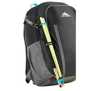 High Sierra HydraHike 24L Pack in the color Black/Slate/Pool.