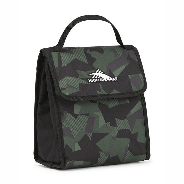 High Sierra Classic Lunch Kit in the color Shattered Camo/Black/Olive.