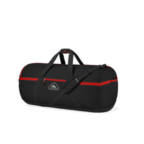 "High Sierra Packed Cargo Duffles 30"" Medium Duffel in the color Black/Crimson Red."