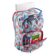 High Sierra Mindie Backpack in the color Denim Rose/Graphite Blue/Crimson.