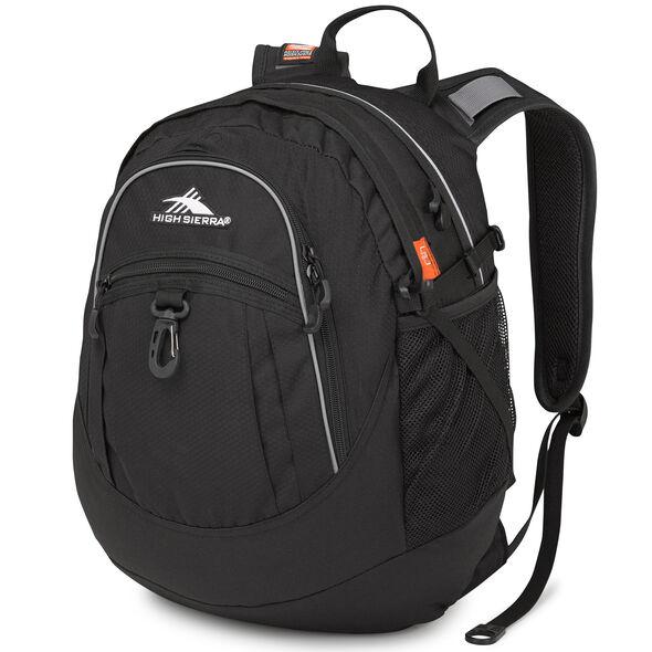 High Sierra Fat Boy Backpack in the color Black.