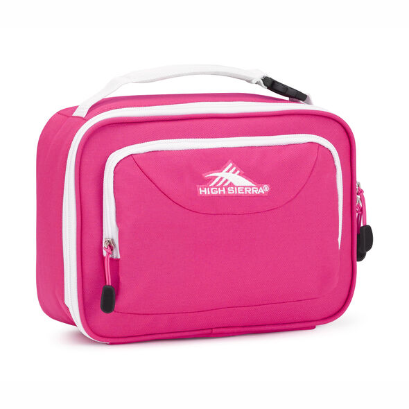 High Sierra Single Compartment in the color Flamingo/White.