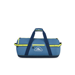 """Packed Cargo Duffles 24"""" Small Duffel in the color Graphite Blue/Rustic Blue/Glow."""