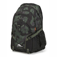High Sierra Loop Backpack in the color Shattered Camo/Black/Olive.