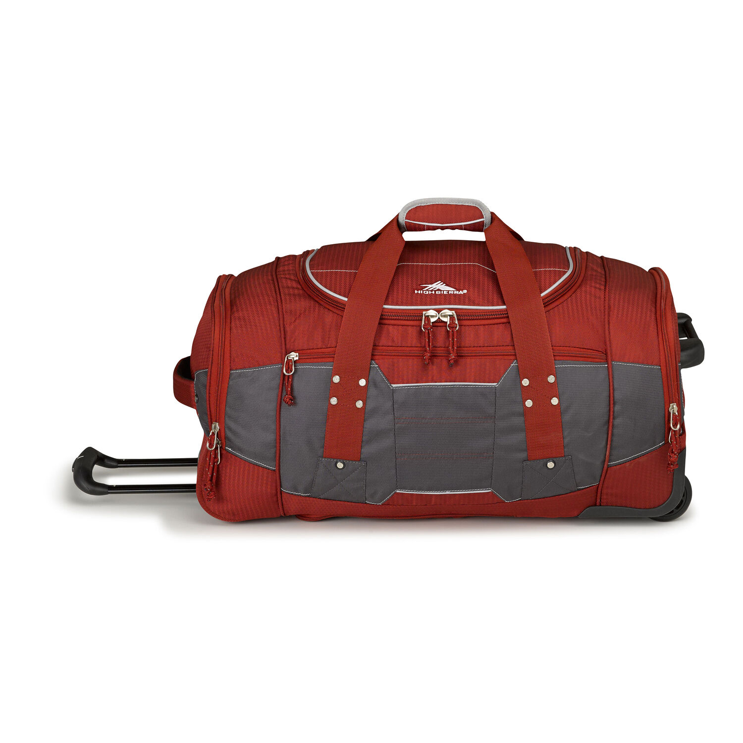 High Sierra Ultimate Access 2.0 26 quot  Wheeled Duffel in the color Brick  Red Mercury 42754b4464109