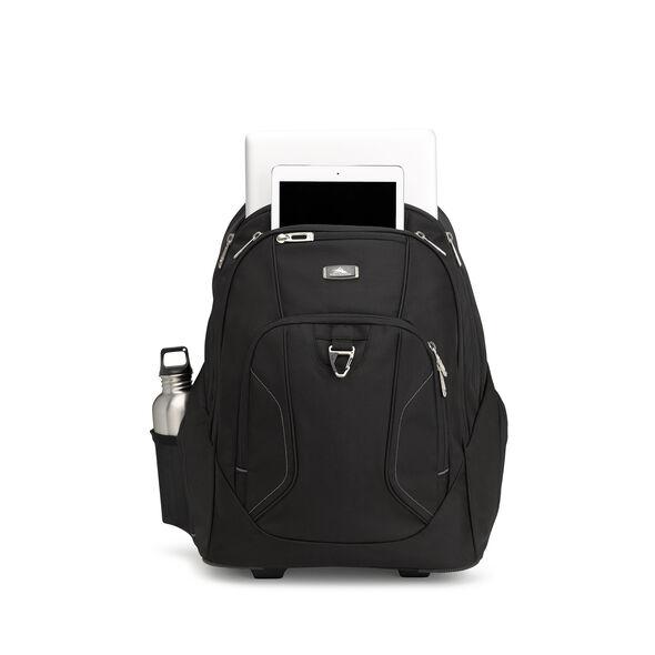 High Sierra Endeavor Wheeled Backpack in the color Black.