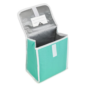 Classic Lunch Kit in the color Aquamarine/White.