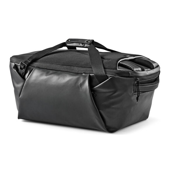 High Sierra Rossby Convertible Duffel in the color Black/Black.