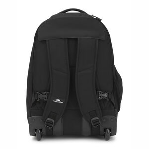 Chaser Wheeled Backpack in the color Black.
