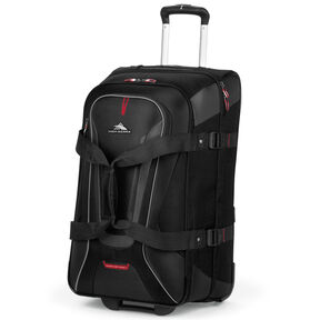 "High Sierra AT7 26"" Wheeled Duffle in the color Black."