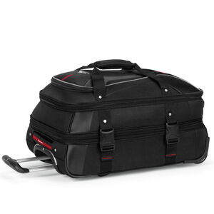 AT7 Carry-On Wheeled Duffel in the color Black.