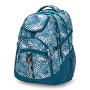 High Sierra Access Backpack in the color Palms/Lagoon.
