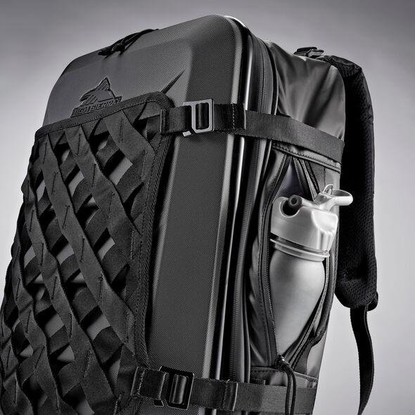 High Sierra OTC Carry-On Weekender Backpack in the color Black/Black/Black.