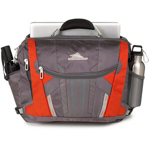XBT TSA Messenger in the color Charcoal/Lava/Silver/Black.