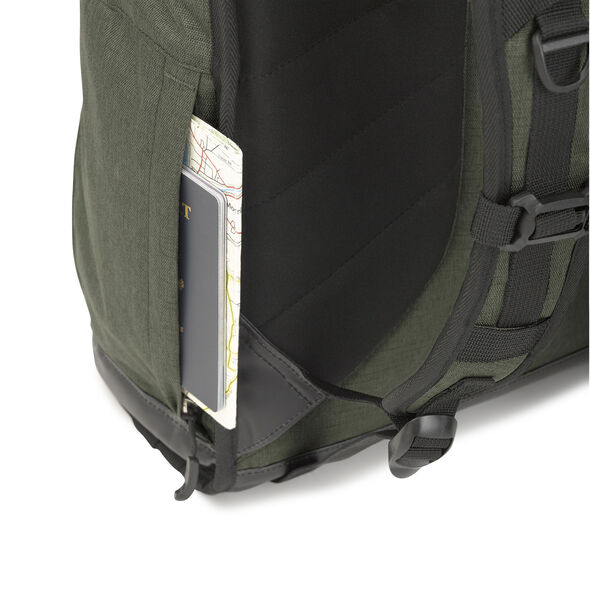 High Sierra PublicPak 2 in the color Olive/Black/Slate.
