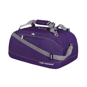 "High Sierra 30"" Pack-N-Go Duffel in the color Deep Purple."
