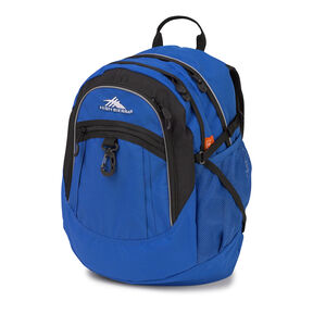High Sierra Fatboy Backpack in the color Vivid Blue/ Black.