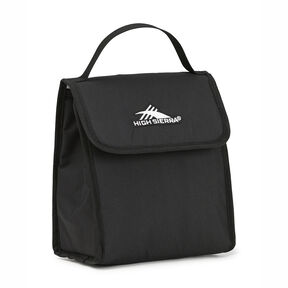 High Sierra Classic Lunch Kit in the color Black.