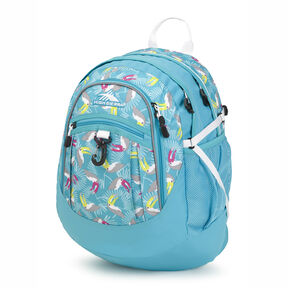 High Sierra Fatboy Backpack in the color Toucan/Tropic Teal/White.