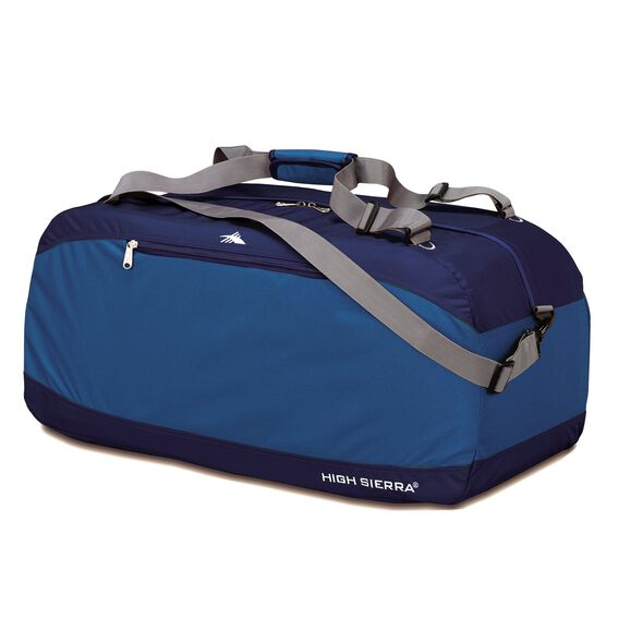 "High Sierra 36"" Pack-N-Go Duffel in the color Pacific/Blue Velvet."