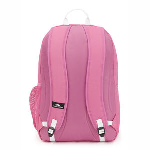 Pinova Backpack in the color Pink Lemonade/White.