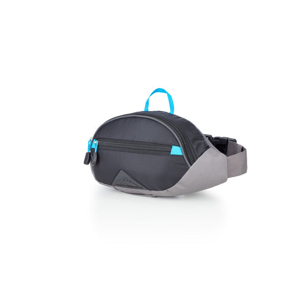 High Sierra HydraHike 1.5L Waist Pack in the color Black/Slate/Pool.
