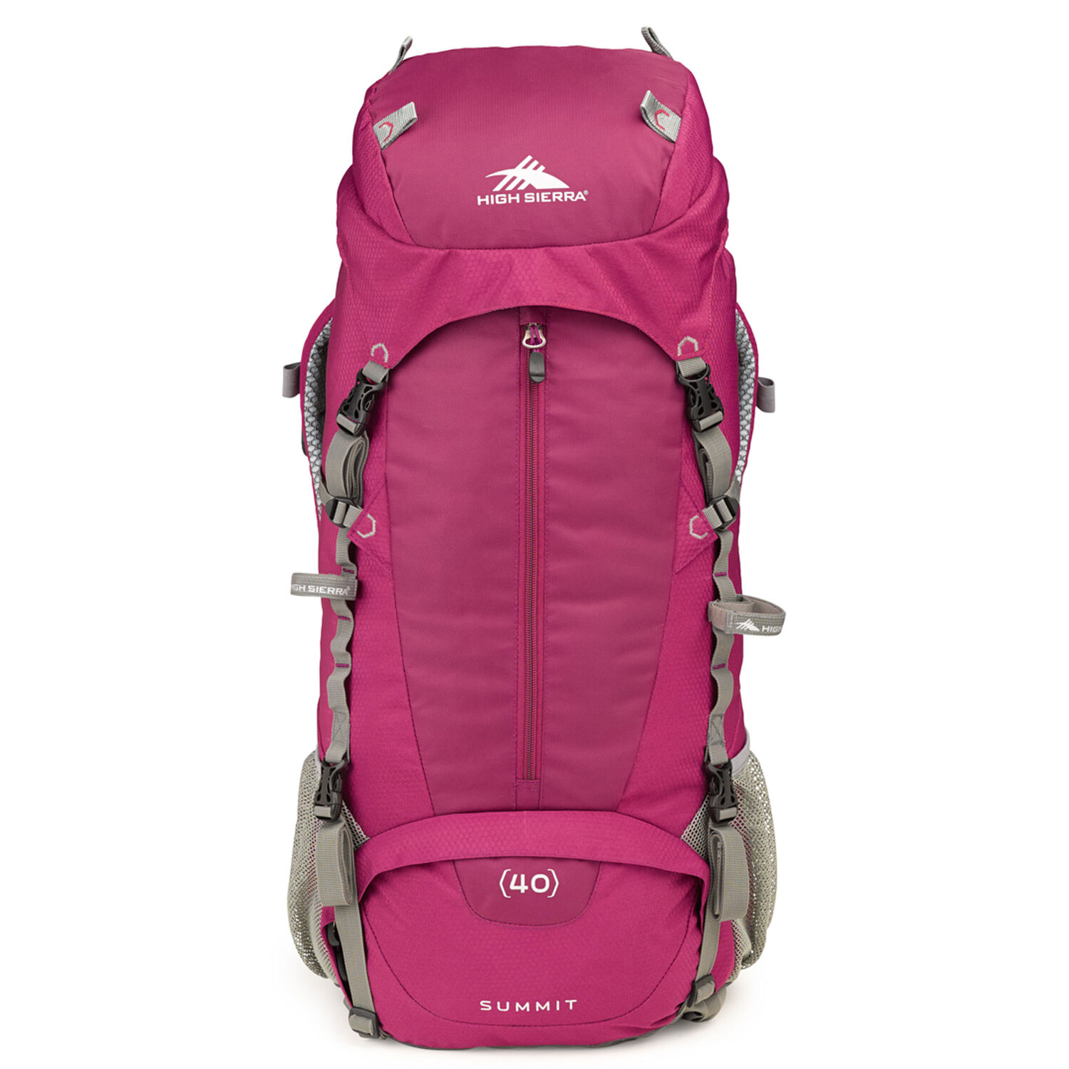 6cad4348c1b High Sierra Classic 2 Series Summit 40W Frame Pack in the color  Boysenberry Ash.