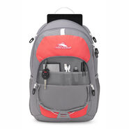High Sierra Daio in the color Charcoal/Paradise Pink/White.