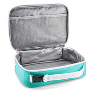 High Sierra Single Compartment Lunch Bag in the color Star Floral/Aquamarine/White.