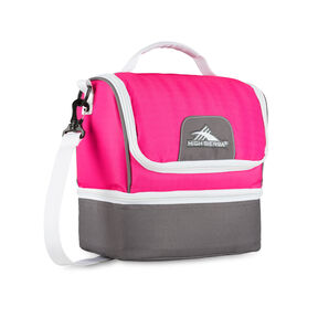 High Sierra Double-Decker in the color Flamingo/Charcoal/White.