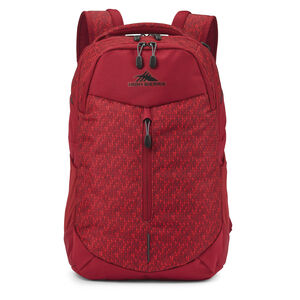 Swerve Pro Backpack in the color Knit/Chili Pepper.
