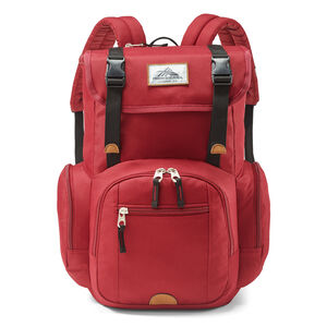 Emmett 2 Backpack in the color Chili Pepper/Black.