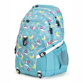 High Sierra Loop Backpack in the color Toucan/Tropic Teal/White.