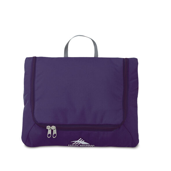 "High Sierra 24"" Pack-N-Go Duffel in the color Deep Purple."