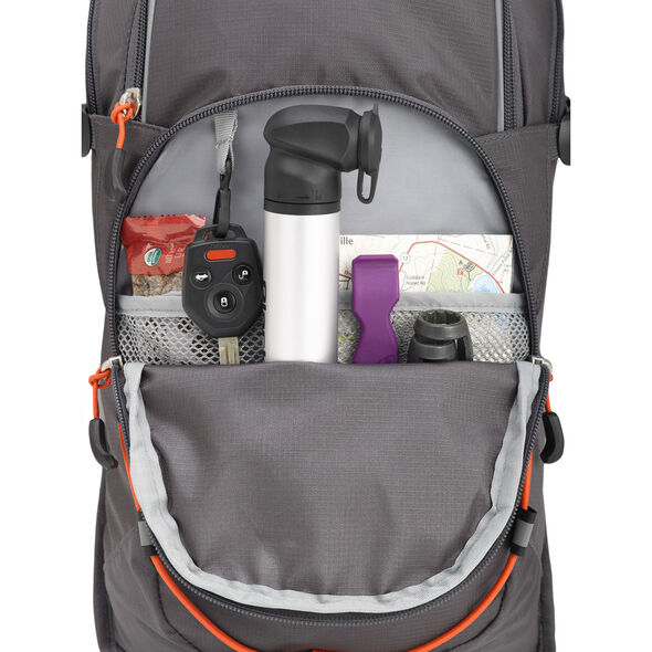 High Sierra HydraHike 8L Pack in the color Mercury/Redline.