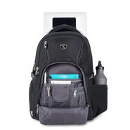 High Sierra Vuna TSA Business Backpack in the color Black/Charcoal.