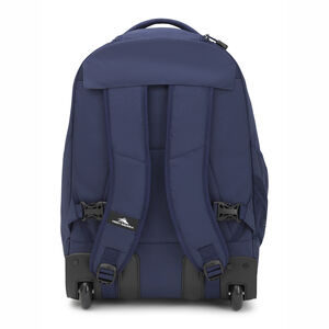 Chaser Wheeled Backpack in the color True Navy.