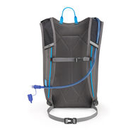 High Sierra HydraHike 8L Pack in the color Black/Slate/Pool.