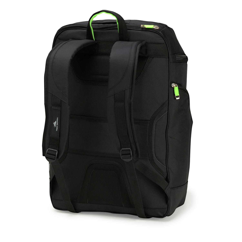 6908ebbcdffef High Sierra Deluxe Bucket Boot Bag in the color Black/Zest.