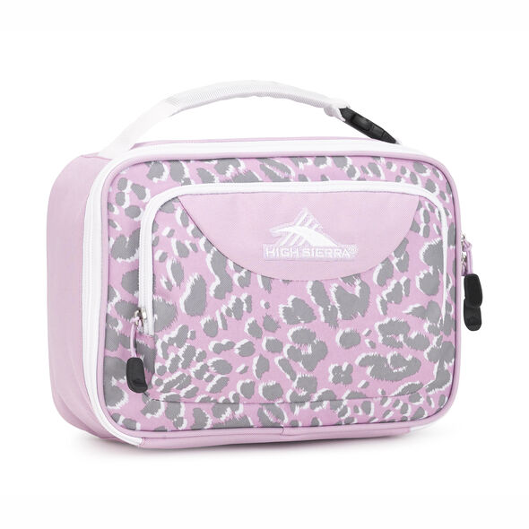 High Sierra Single Compartment in the color Shadow Leopard/Iced Lilac/White.