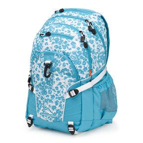 High Sierra Loop Backpack in the color Tropic Leopard Tropic Teal White. 60bb4cf3d3