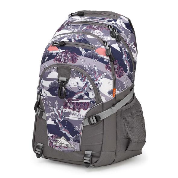 High Sierra Loop Backpack in the color Kimono/Slate/Ash.