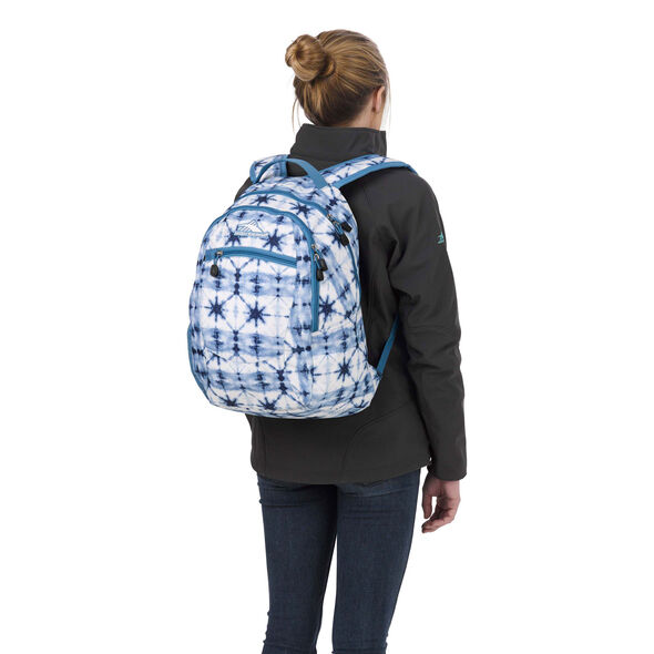 High Sierra Curve Backpack in the color Indio Dye/Mineral/White.