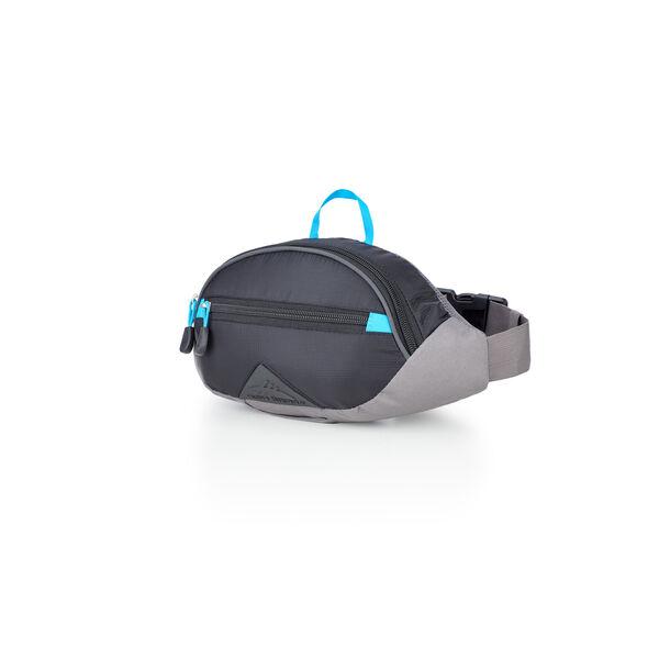 High Sierra HydraHike 1.5L Waist Pack in the color Black/Slate/Pool.