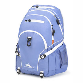 High Sierra Loop Backpack in the color Lapis/White.