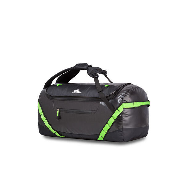 "High Sierra Kennesaw 24"" Sport Duffel in the color Black/Lime."