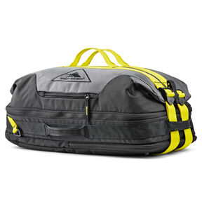 High Sierra Dells Canyon Convertible Duffel Backpack in the color Mercury/Black/Glow.