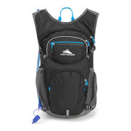 High Sierra HydraHike 16L Pack in the color Black/Slate/Pool.